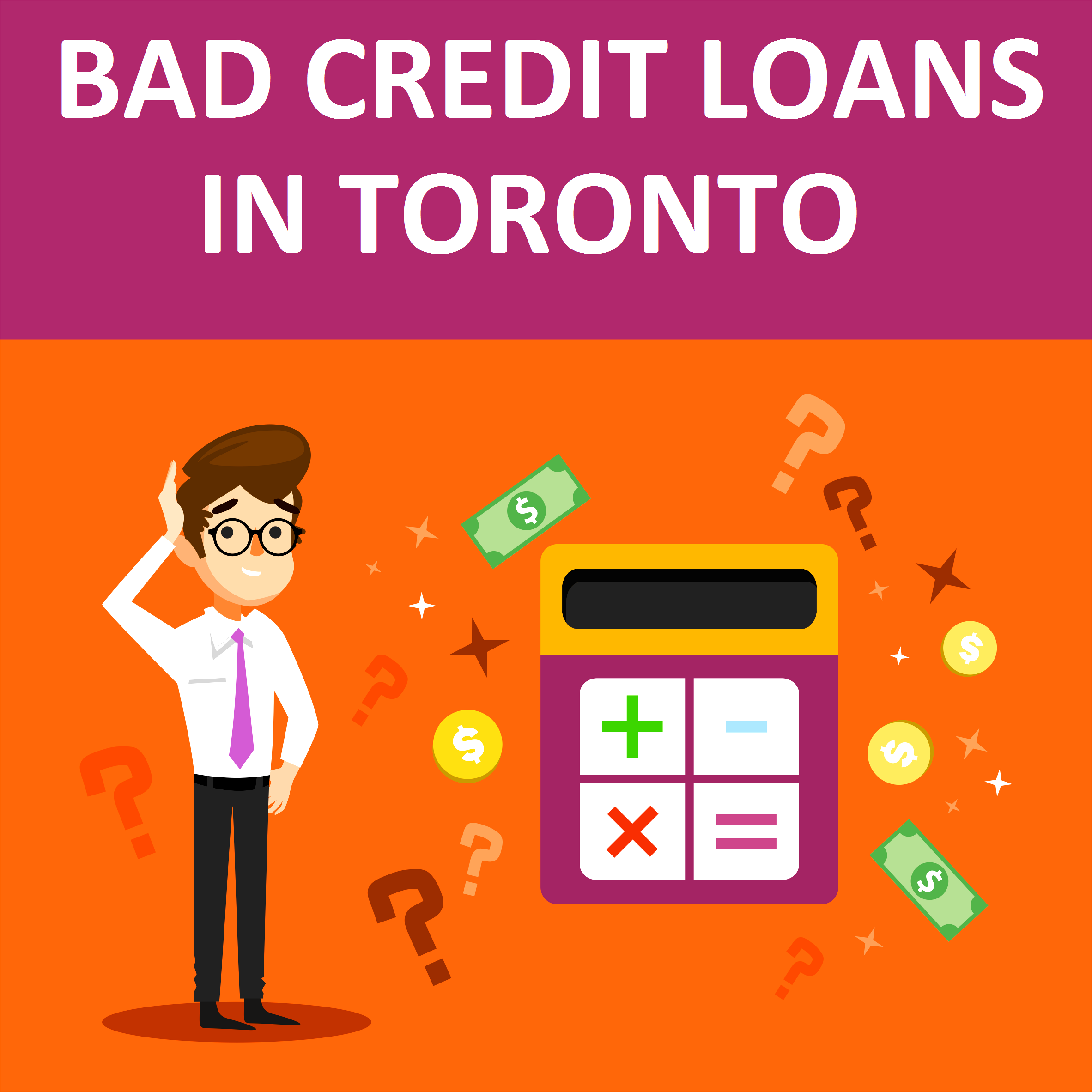Beware Of Bad Credit Mortgage Lenders In Canada: Bad Credit Loans In Toronto. Apply Now!