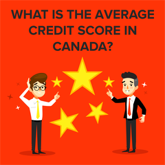What is The Average Credit Score in Canada?