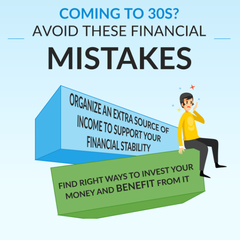 Coming to 30s? Avoid These Financial Mistakes