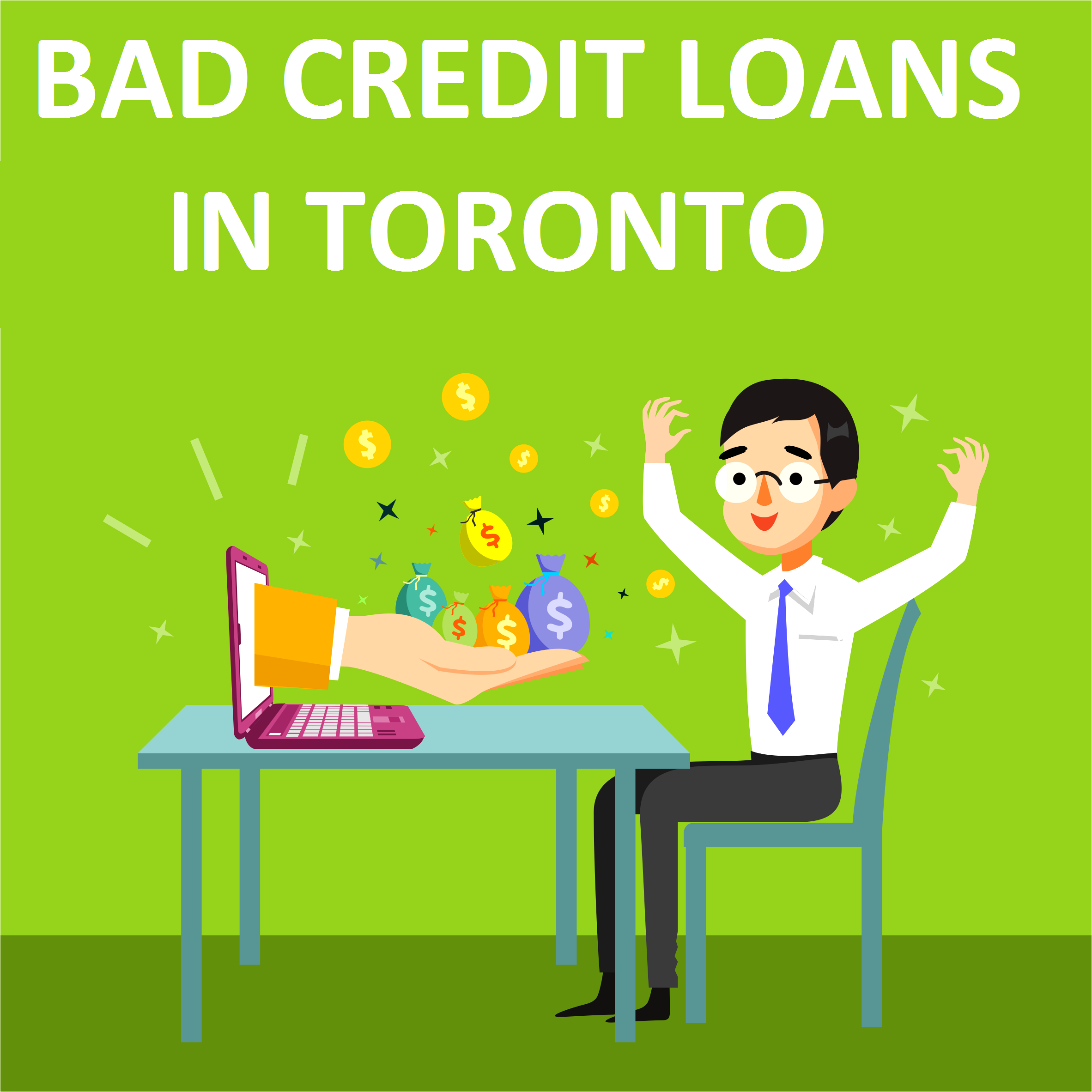 Bad Credit Payday Loans No Credit Check Direct Loan: Bad Credit Loans In Toronto