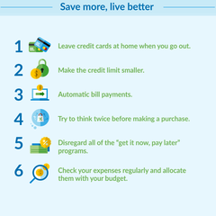Save More, Live Better
