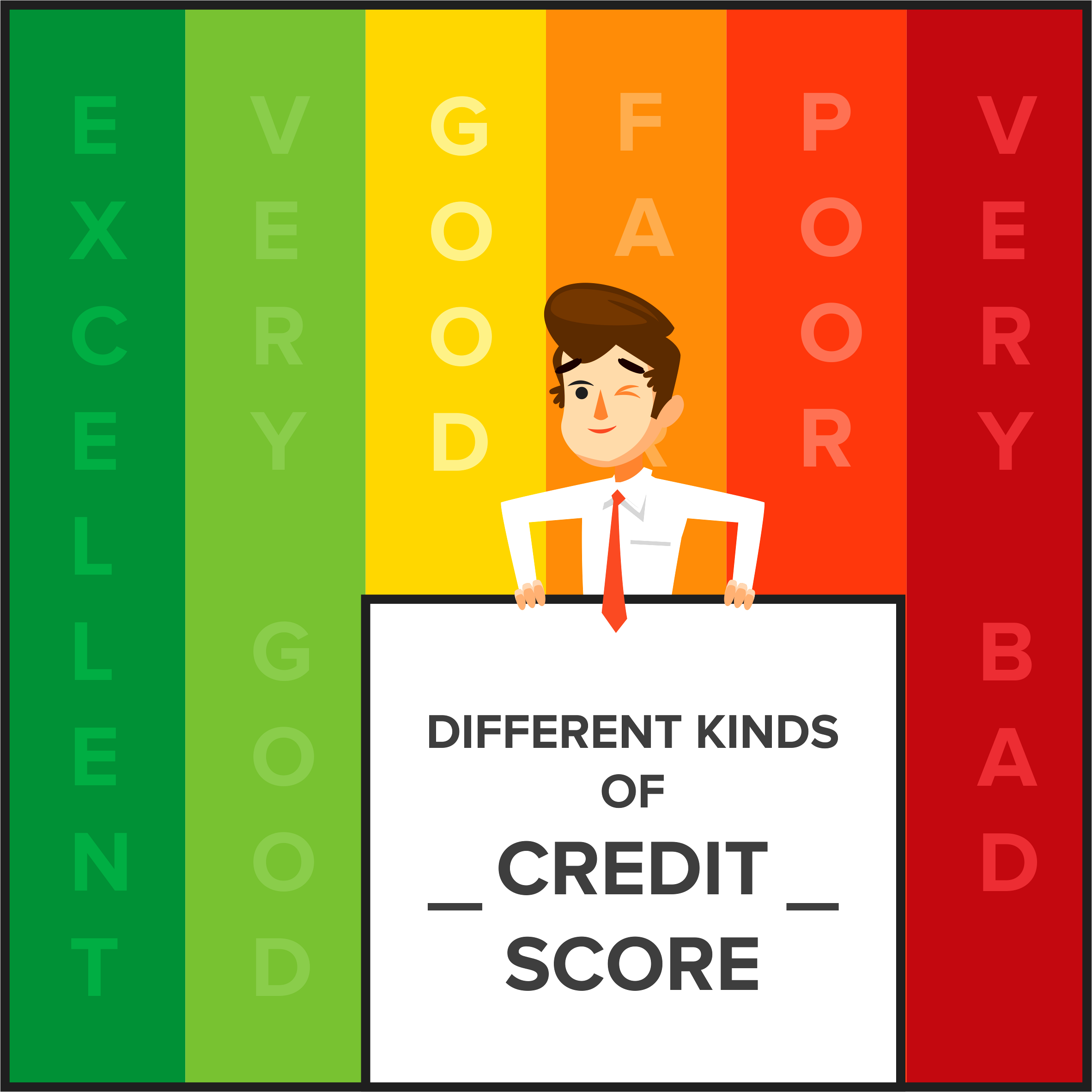 Different Kinds of Credit Score